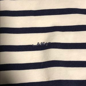 Lilly Pulitzer Tops - Lilly Pulitzer striped navy top